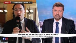 """Attentats à Bruxelles : """"Ils sont là pour détruire des vies et notre société démocratique"""""""