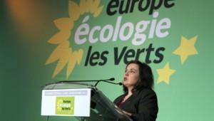 Emmanuelle Cosse, la nouvelle patronne d'Europe Ecologie-Les Verts.