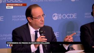 Hollande justifie son calendrier