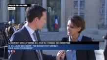"""Najat Vallaud-Belkacem : """"Ce budget est sérieux et courageux"""""""