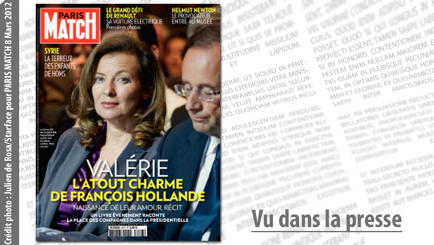 Paris Match Valérie Trierweiler François Hollande