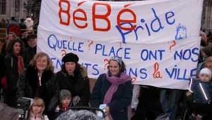 bébé pride hôtel de Ville Paris décembre 2005