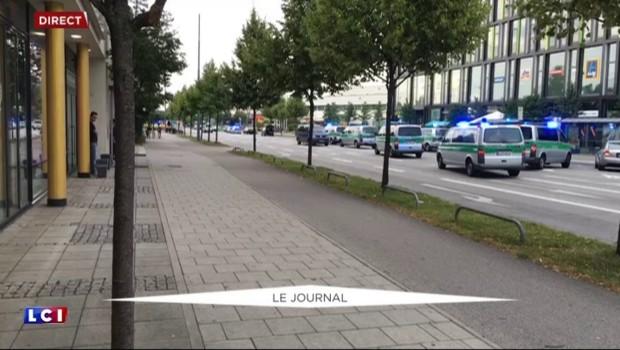 Fusillade à Munich : intervention policière en cours