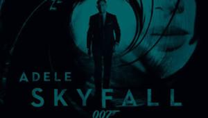 La pochette du single Skyfall d'Adele