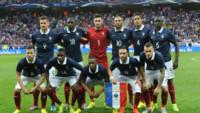 Les 11 Bleus de l'équipe de France de football alignés face à la Jamaïque le 8 juin 2014