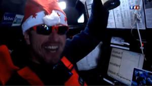 Les marins du Vendée Globe fêtent Noël