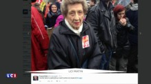 Les opposants à la loi Travail ont trouvé leur nouvelle mascotte... Elle a 93 ans
