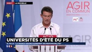 Manuel Valls appelle à une Europe soudée face à l'immigration illégale
