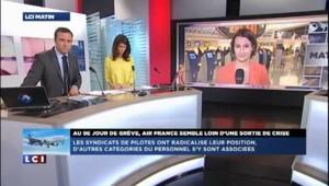 """9e jour de grève à Air France : """"Le mouvement se durcit"""""""