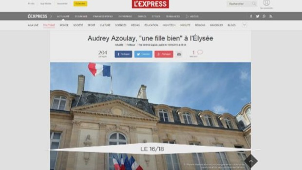 Audrey Azoulay Article Capture
