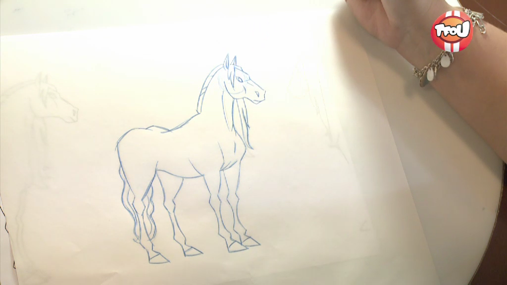 Vid o le ranch apprends dessiner sila les reporters - Dessin du ranch ...