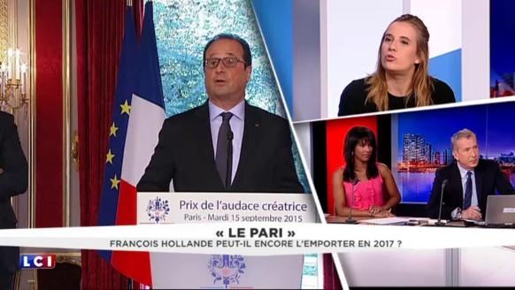 """François Hollande """"pense qu'il est vraiment révolutionnaire"""""""