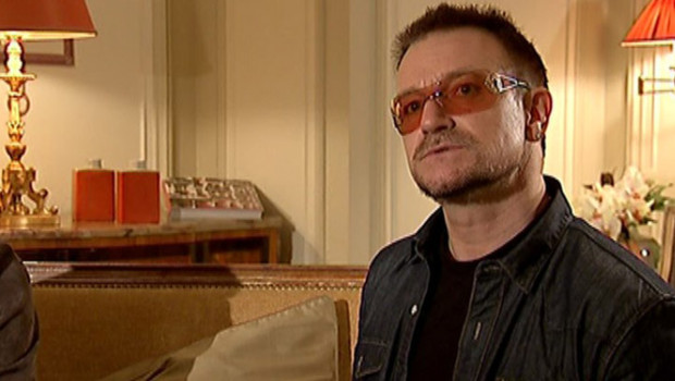 Rencontre avec une lgende du rock : Bono, de U2