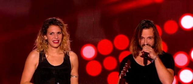 """Le duo Fergessen revisite les Beatles avec """"Eleanor Rigby"""" - The Voice 4 - Emission du 24/01/2015"""