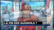 """Arrêt des Guignols : """"Le poil à gratter de la démocratie française"""""""