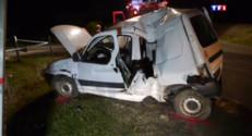 Le 13 heures du 4 juillet 2015 : Alsace : un mort et deux blessés graves dans un accident de la route - 327
