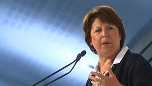 Université d'été du PS : le discours de clôture de Martine Aubry (30 août 2009)