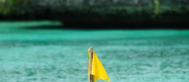 Koh Lanta 9 : la balise de l'équipe jaune