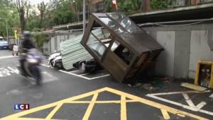 Après Taiwan, le typhon Dujuan s'approche des côtes chinoises
