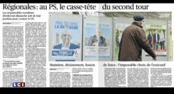 FN, PS : les élections régionales à la Une de vos journaux, ce mercredi 2 décembre