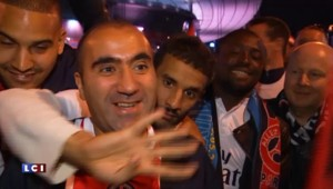 Football : les supporteurs du PSG fous de joie après le succès en Coupe de France