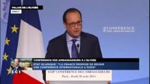 """François Hollande : """"Bachar al-Assad est l'allié objectif des jihadistes"""""""