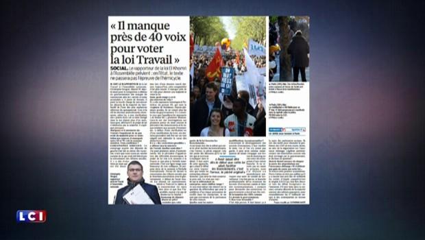 """""""François Hollande """"soigne ses profs"""", loi travail : la revue de presse du 2 mai 2016"""