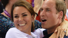 Kate Middleton et le prince William le 2 août 2012 aux JO de Londres
