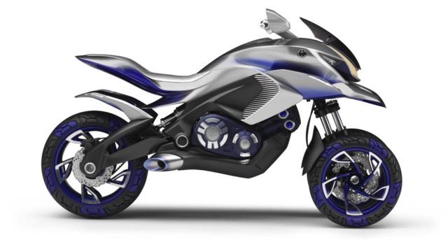 news automoto yamaha concept 01gen 2014 le 3 roues du futur expos l 39 intermot mytf1. Black Bedroom Furniture Sets. Home Design Ideas