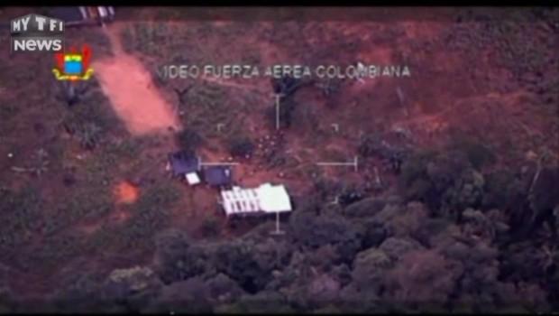 5 tonnes de cocaïne saisies en Colombie : vu du ciel, le passage à l'action des forces de sécurité