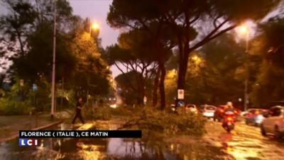 Italie : une tornade fait de nombreux dégâts à Florence, une vingtaine de blessés