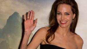 Angelina Jolie à Paris le 6 mai 2014 pour la promotion de Maléfique