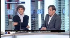 """Bedos-Trierweiler : un canular qui """"salit la parole publique"""" estime François Kalfon"""