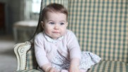 Charlotte, 6 mois, fille de Kate Middleton et du prince William