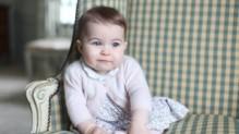 Charlotte, 6 mois, fille de Kate Middleton et du prince William