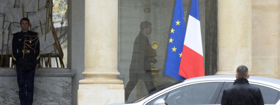 Manuel Valls à l'Elysée, le 26/8/14