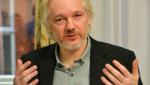 Julian Assange, le fondateur de WikiLeaks, le 18 août 2014 à Londres.
