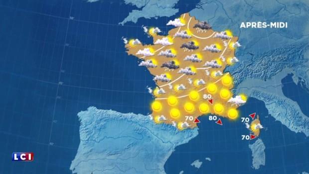 La météo de ce lundi : le Nord à l'ombre, le Sud au soleil