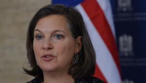 La secrétaire d'Etat adjointe américaine pour l'Europe, Victoria Nuland.