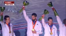 Le 20 heures du 1 février 2015 : Mondial de Handball : revivez la remise des médailles - 552.3796970214844