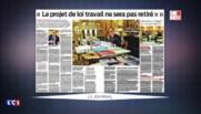 """Loi Travail : """"Le projet ne sera pas retiré"""", affirme Hollande dans les colonnes de Sud Ouest"""