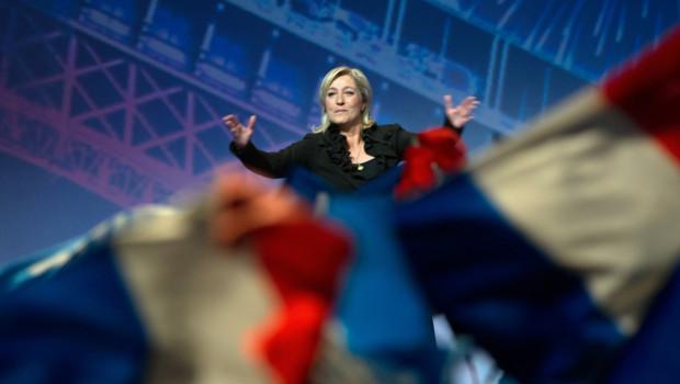 Marine Le Pen au Zenith de Paris FN