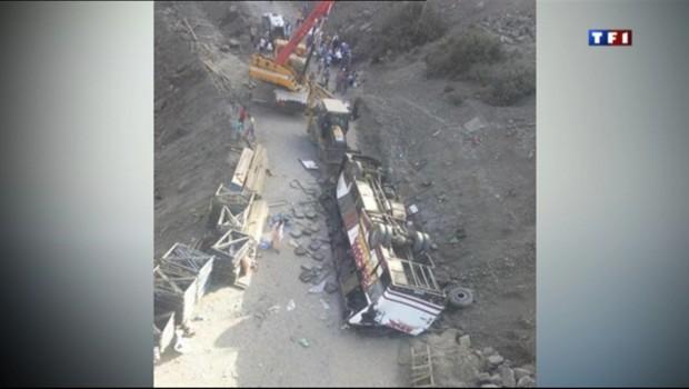Un autocar a chuté dans un ravin alors qu'il se rendait à Marrakech, le 4 septembre 2012