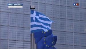 Devant la commission européenne à Bruxelles, image d'archives