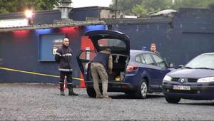 """Fusillade près de Cambrai : les secours et les gendarmes près de la discothèque """"Le Vamos"""" (8 juillet 2012)"""