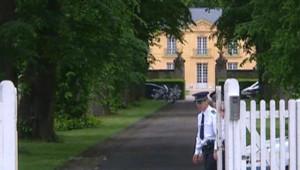 La Lanterne, résidence d'Etat des Premiers ministres à Versailles, où séjourne régulièrement le couple Sarkozy