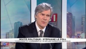 Attentats de Paris : à demi-mots, Le Foll reconnaît des ratés dans la coopération franco-belge