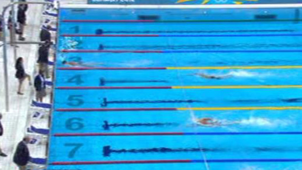 JO 2012 : les compétitions de natation à Londres (juillet 2012)