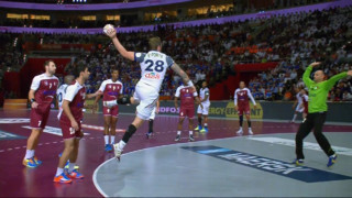 Handball : les plus belles actions de la finale Qatar-France