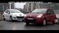 Sujet Automoto Peugeot 207 Renault Clio 2012